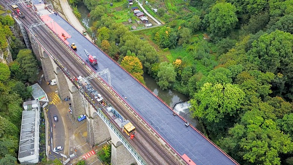 2nd Pulvermühle Viaduct, Double-Track Extension Projects to Increase CFL Capacity