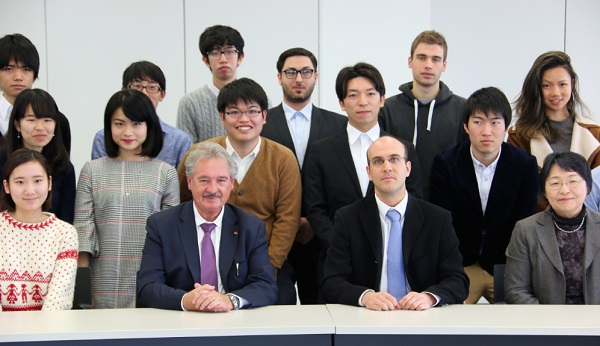 Minister Asselborn Gives Speech on EU's Past, Present and Future at Sophia University in Tokyo