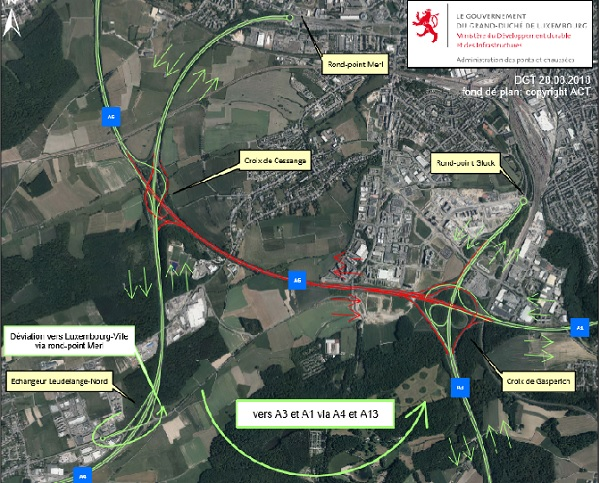 A1-A6 motorway Stretch Closed this Week-end for New Bridge Construction