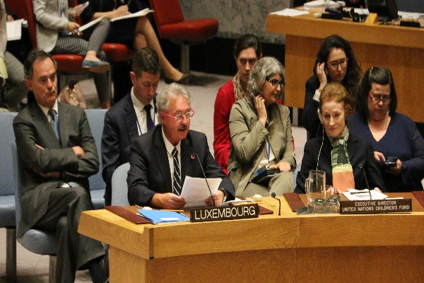 Jean Asselborn contributes to Adoption of UN Resolution Protecting Children during Armed Conflict