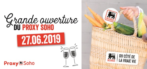 Delhaize to Open Proxy Soho Convenience Store in Luxembourg-Gare