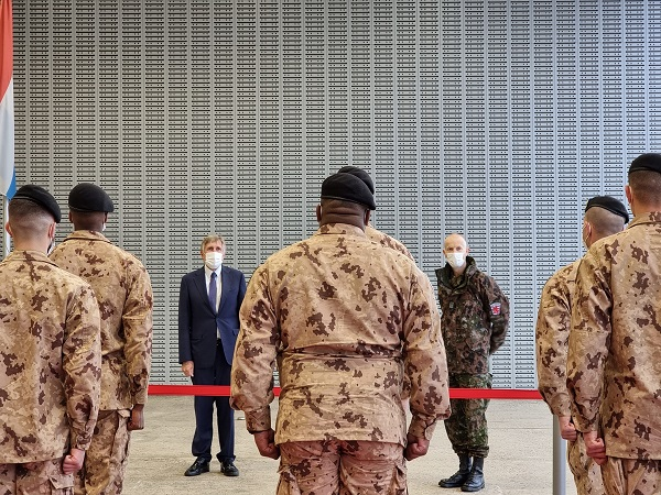 Luxembourg Troops Deployed to Mali
