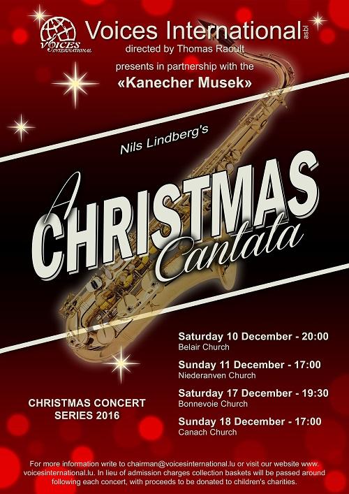 Christmas Cantata.Voices International Announces A Christmas Cantata