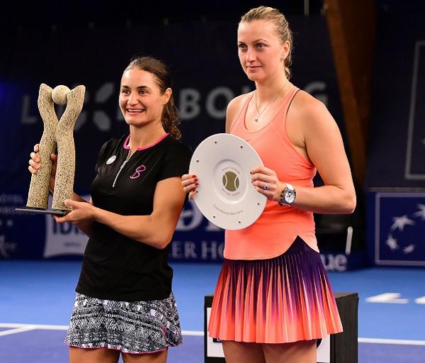 Petra Kvitová podlehla ve finále Monice Niculescuové