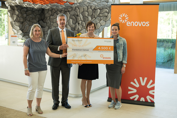 enovos cancer foundation donation