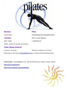 Pilates Classes (Mersch)