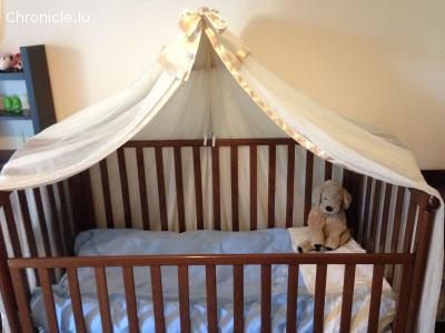Baby Wooden Bed Crib for Kids made in Italy