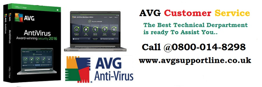 Getting troubles in AVG, the contact us at 0800-014-08298